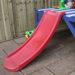 4 x 4 Waltons Honeypot Bluebell Wooden Tower Playhouse with Slide - Slide