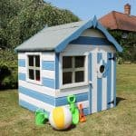 4 x 4 Waltons Honeypot Snug Wooden Playhouse Side