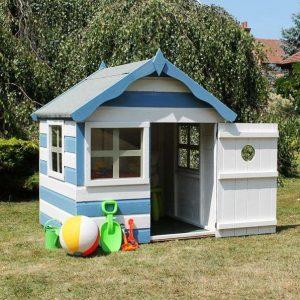 4 x 4 Waltons Honeypot Snug Wooden Playhouse Single Door Open