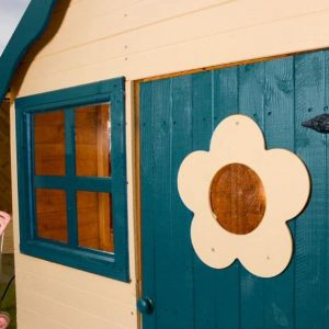 4 x 4 Waltons Honeypot Snug Wooden Playhouse Windows and Door