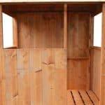 4 x 4 Waltons Honeypot Stockade Tower Outdoor Boys Playhouse Internal