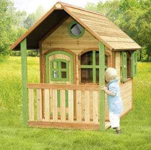 4 x 6 Alex Axi Playhouse Front Closed Door