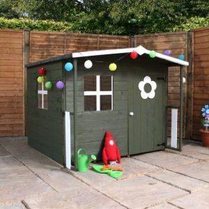 5 x 5 Waltons Honeypot Rose Wooden Playhouse