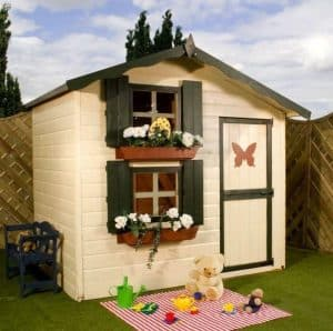 7 x 5 Waltons Honeypot Snowdrop Cottage Wooden Playhouse with Loft