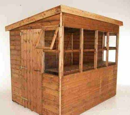 8 X 6 Traditional Sun Pent 6 Gable Shed What Shed