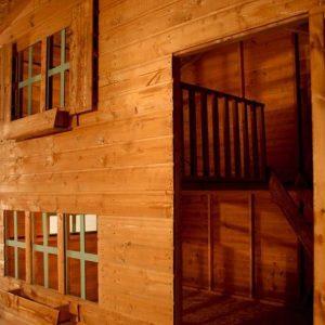 8 x 6 Waltons Honeypot Bramble Wooden Playhouse Windows and Cladding