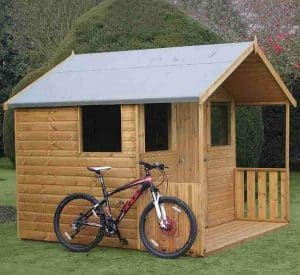 8' x 8' Traditional 8' Cabin Shed