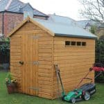 8' x 8' Traditional Apex Security Shed
