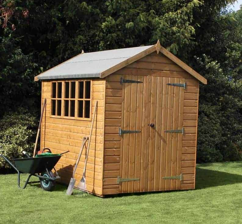 8' x 8' Traditional Heavy Apex Shed
