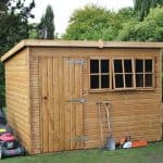 8' x 8' Traditional Heavy Pent Shed