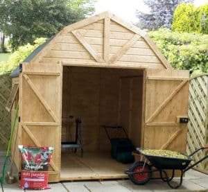 8' x 8' Windsor Groundsman Dutch Barn Shed