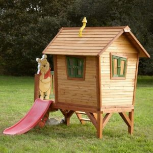 9 x 5 Winnie The Pooh Axi Playhouse Back View