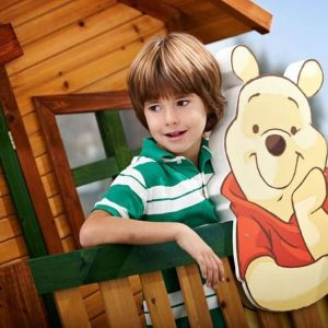 9 x 5 Winnie The Pooh Axi Playhouse Wood Materials