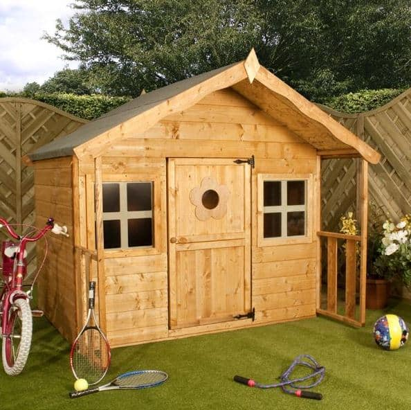 Waltons Honeypot Honeysuckle Wooden Playhouse What Shed