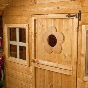 Waltons Honeypot Honeysuckle Wooden Playhouse Door and Window