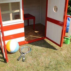 Waltons Honeypot Honeysuckle Wooden Playhouse Flooring Window Door and Cladding