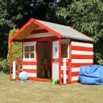Waltons Honeypot Honeysuckle Wooden Playhouse Single Door Open