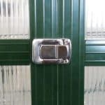 12' x 8' Nison EaZi-Click Green Polycarbonate Greenhouse Lock