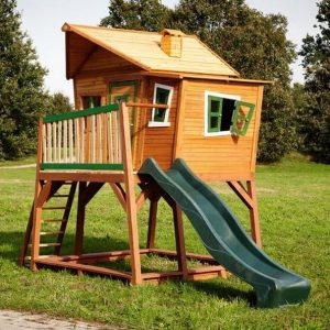 14 x 6 Max Axi Playhouse Side View