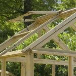 6 x 6 Waltons Pressure Treated Wooden Greenhouse Roof