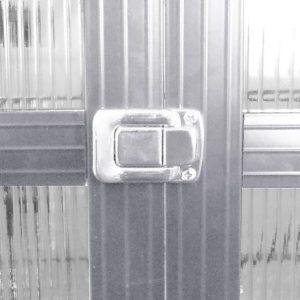 8' x 6' Nison EaZi-Click Polycarbonate Greenhouse Door