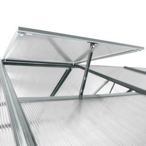 8' x 6' Nison EaZi-Click Polycarbonate Greenhouse Roof