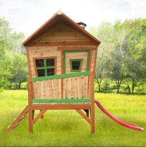 9 x 6 Iris Axi Playhouse Front View