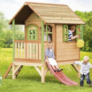 9 x 6 Tom Axi Playhouse Kids at play