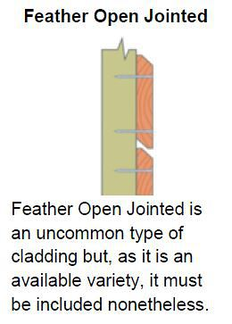 Feather Open Jointed