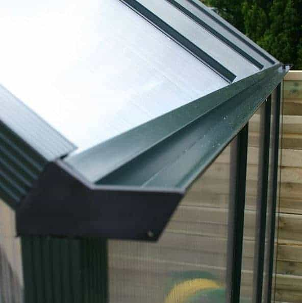 Greenhouse 6 X 6 Waltons Extra Tall Polycarbonate Clip