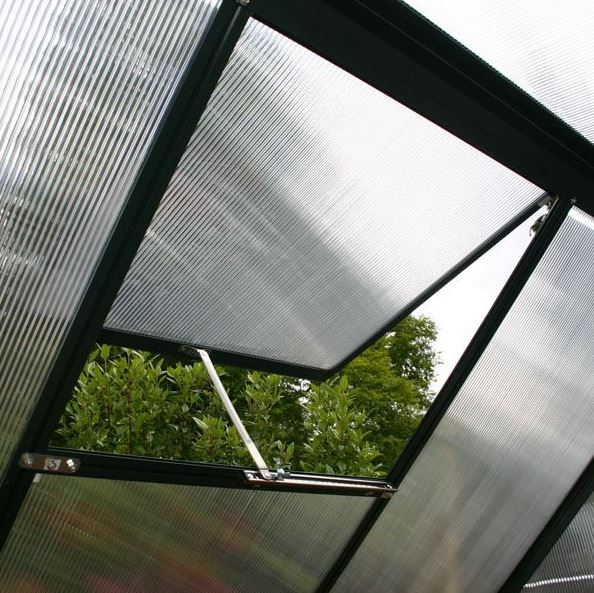 Greenhouse 8 X 6 Waltons Extra Tall Polycarbonate Clip