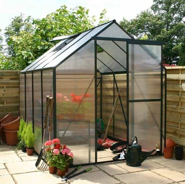 Greenhouse 8 x 6 Waltons Extra Tall Polycarbonate Clip Model