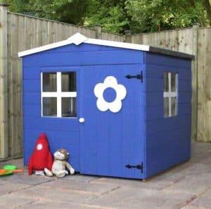 Playhouses For Girls -  4' X 4' Waltons Bluebell Honeypot Playhouse