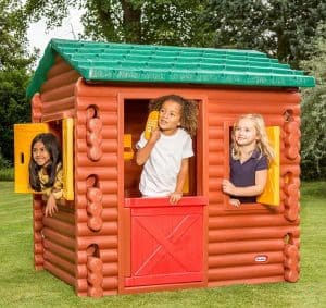 Playhouses For Girls - 4'9 X 4' Little Tikes Log Cabin Playhouse