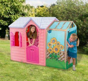 Playhouses For Girls - 6'3 X 3'5 Little Tikes Princess Garden Playhouse