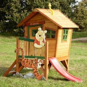 Playhouses For Girls - 9' X 5' Winnie The Pooh Axi Playhouse