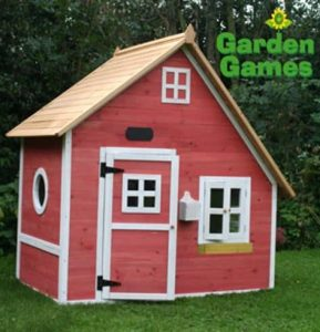 Playhouses For Girls -  Crooked Mansion Wooden Playhouse