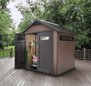 Plastic Shed no1
