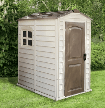 6' x 4' Shed, Duramax Woodside Plastic Shed