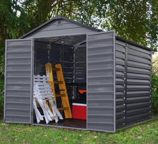 BillyOh Ashford Apex Plastic Garden Storage Shed