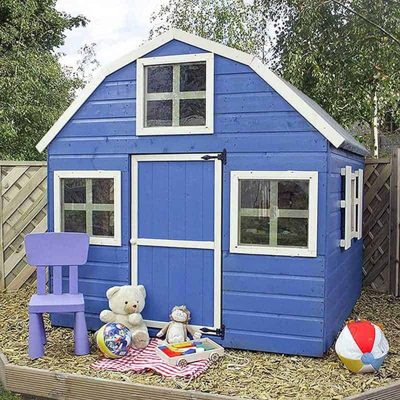 6x6 Windsor Dutch Barn Kids Wooden Playhouse