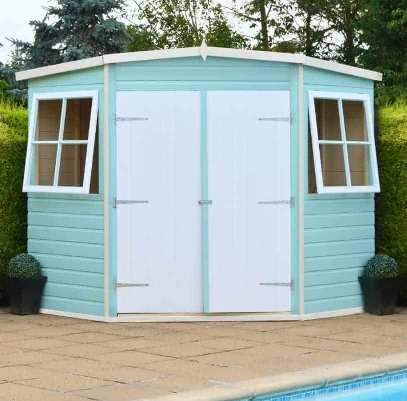 Loxley 8' x 8' Shiplap Corner Shed