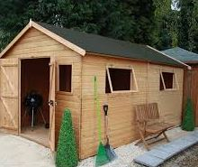 10' x 10' Windsor Groundsman Wooden Garden Workshop Shed (3.18m x 3.11m)