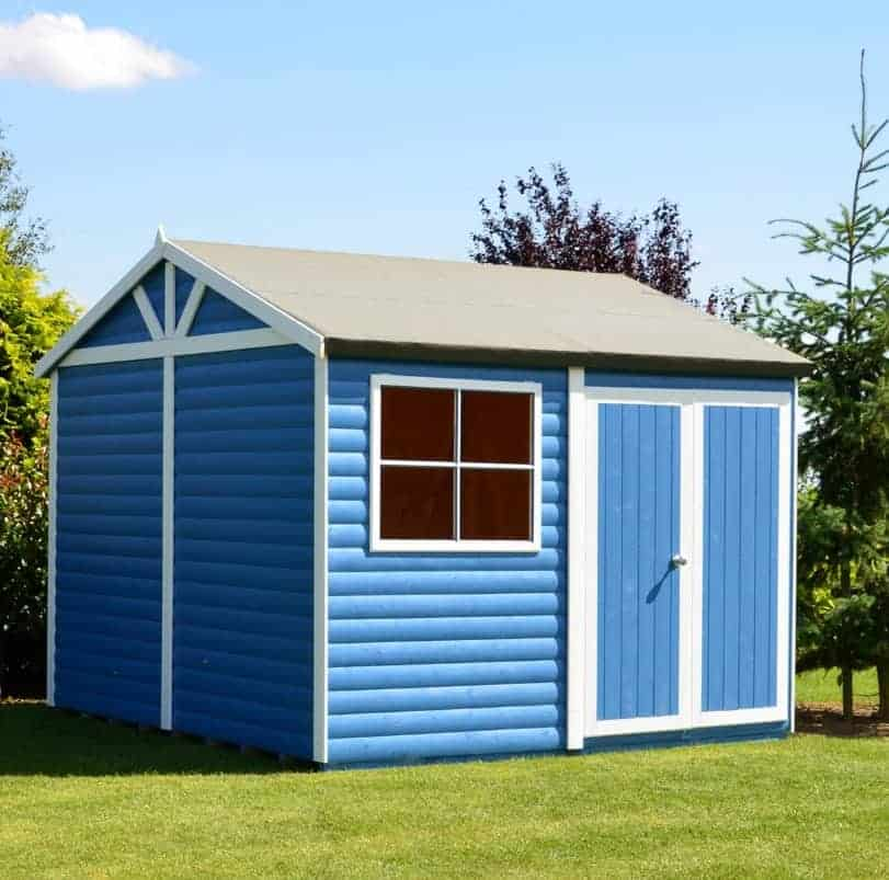 Mira Timber Log Cabin Shed 3.88m x 2.98m, 28mm