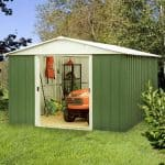 10 x 10 Shed - Yardmaster 1010GEYZ+ 10 x 10 Shed With Floor Support Kit
