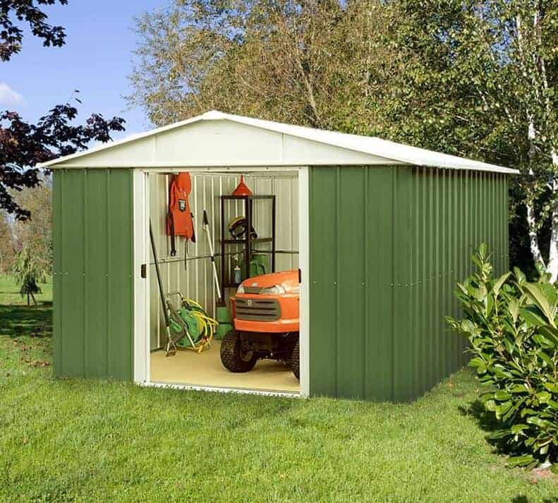 10 x 10 shed who has the best