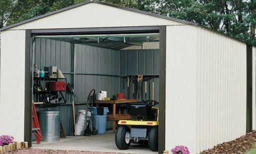 Rowlinson Murryhill 12' x 10' Apex Metal Garage