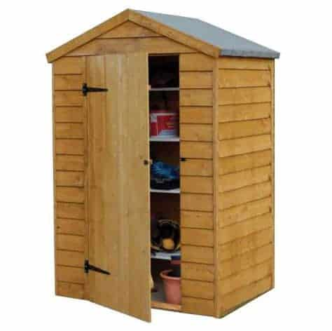 Hartwood 4' x 3' Windowless Overlap Apex Shed