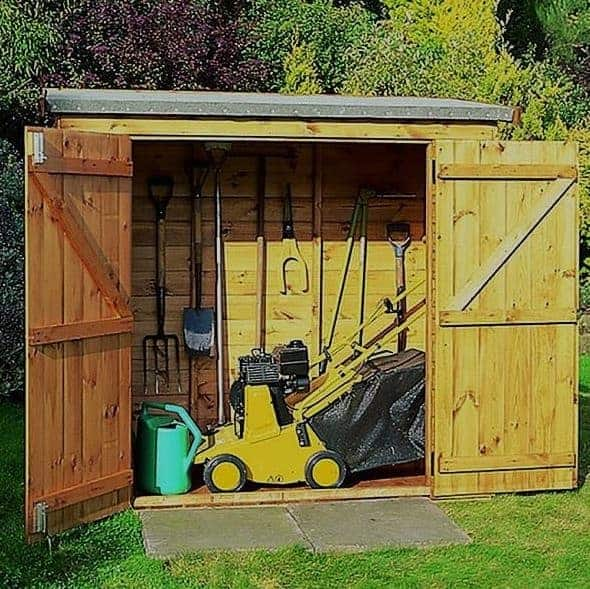 4'x3' SkyGuard EPDM Garden Building/ Shed Roof Kit - Replacement Covering