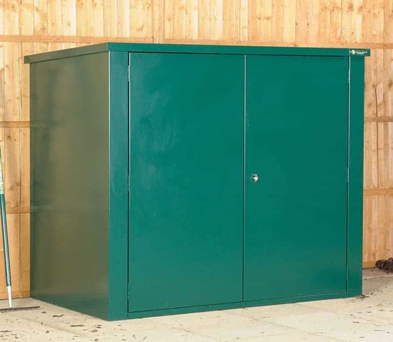 5' x 3' Asgard Vangard Metal Storage Shed with 2 Point Locking (1.54m x 0.95m)